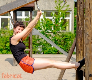 fabricat retro 80s 80er sprinter shorts hotpants sporthose damen ladies glanz nylon shiny orange blau