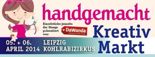 Fabricat beim DaWanda Kreativmarkt Leipzig 05.04.2014
