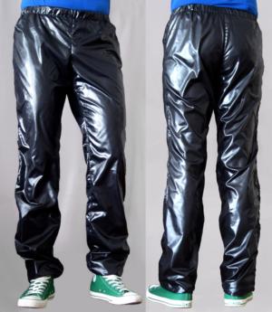 fabricat glanznylon trainingshose track pants shiny nylon herren men