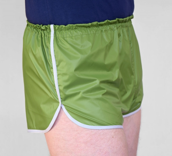 fabricat retro sprinter shorts kurz sport sporthose nylon. Black Bedroom Furniture Sets. Home Design Ideas
