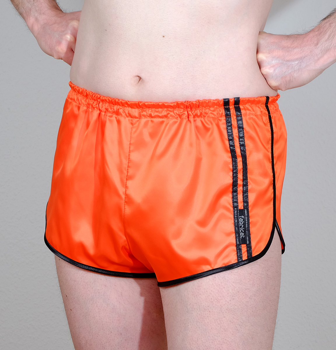 retro soft slick shiny satin nylon sprinter shorts for. Black Bedroom Furniture Sets. Home Design Ideas